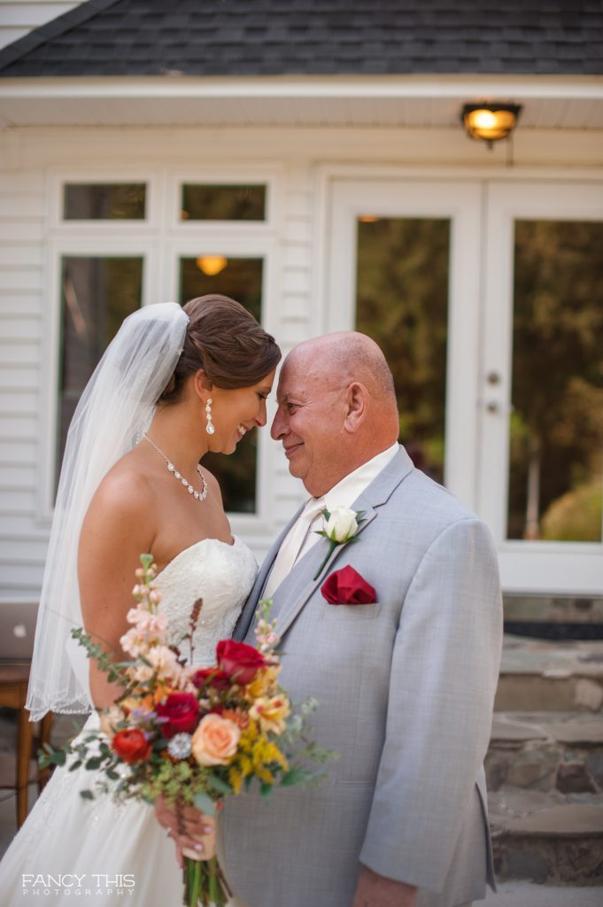 Father of the Bride at the Wedding