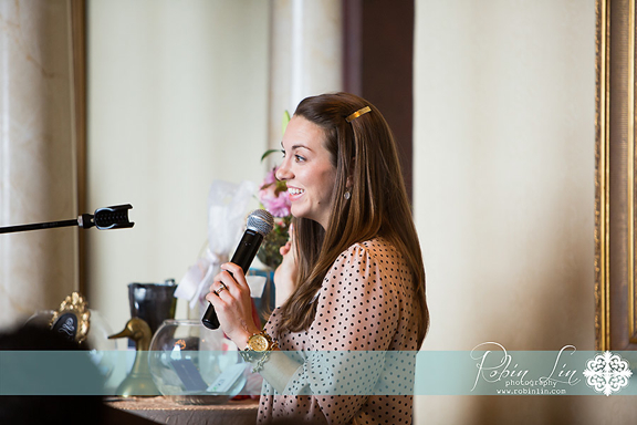 Southern Bride and Groom Magazine or NC Weddings Owner Jenna Announcing Winners
