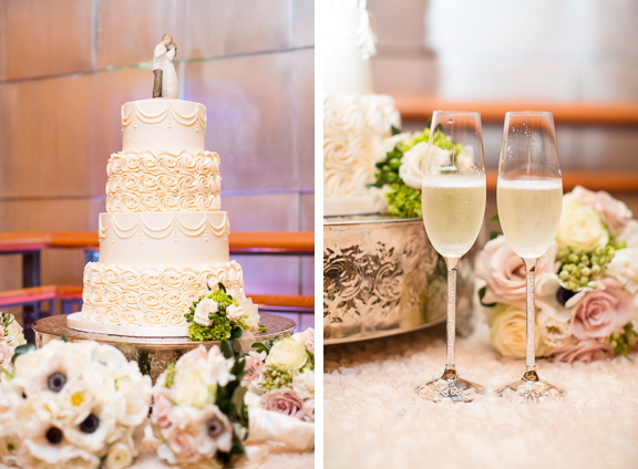 Image result for cake and champagne reception