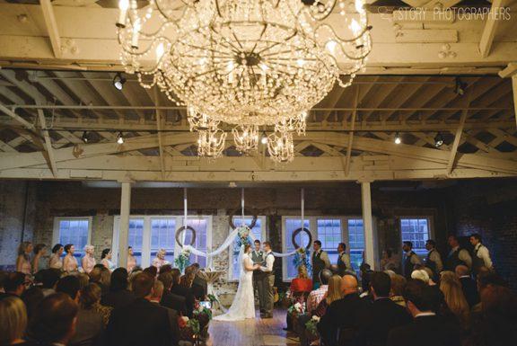 Rustic Chic Wedding Ceremony