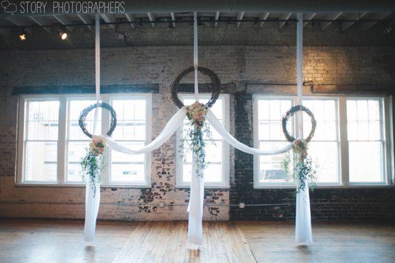 Wedding Ceremony at The Stockroom