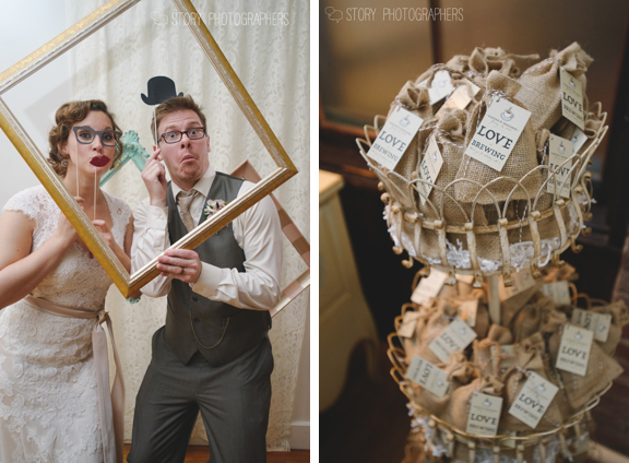 Wedding Photobooth and Favors