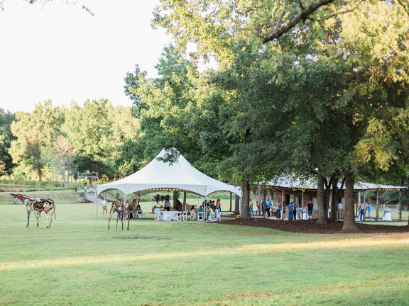 Tents at Iron Horse Open House