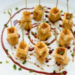 Mini Chicken and Waffles by Empire Eats Catering Raleigh
