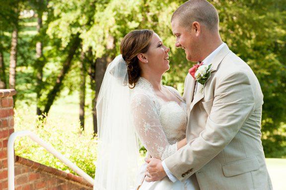 Bride and Groom at TPC Wakefield