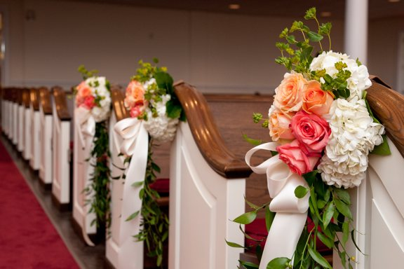 Floral Decor in Church