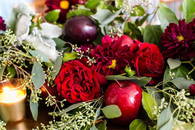 Apple-Floral-Details