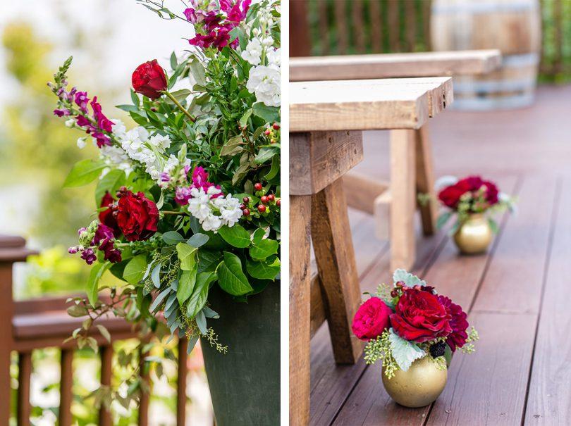 Deck Floral Aisle Details