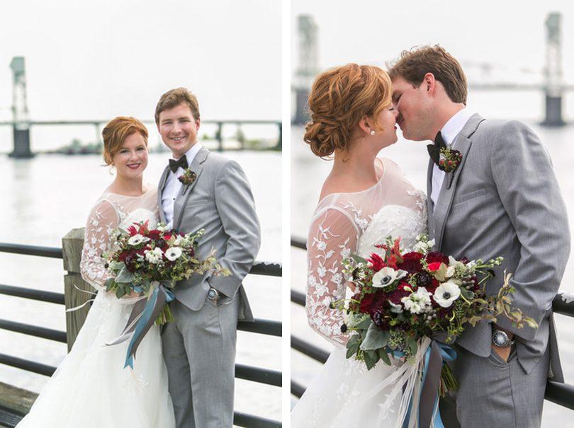 bride groom wilmington riverwalk