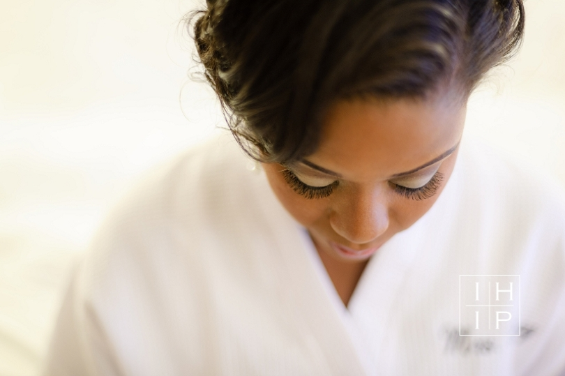 Bride preparation photograph