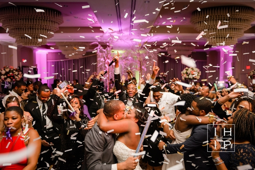 Fun and Festive New Years Eve Raleigh Wedding