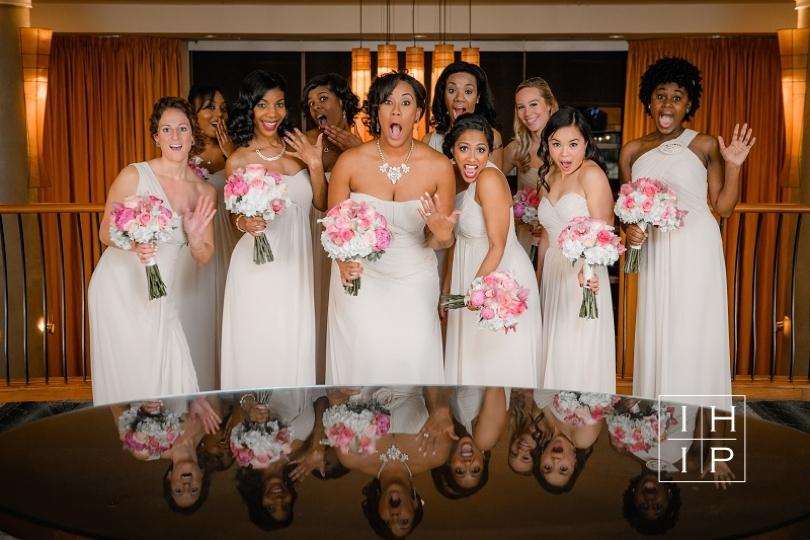 Fun bridesmaids photo by In His Image Photography