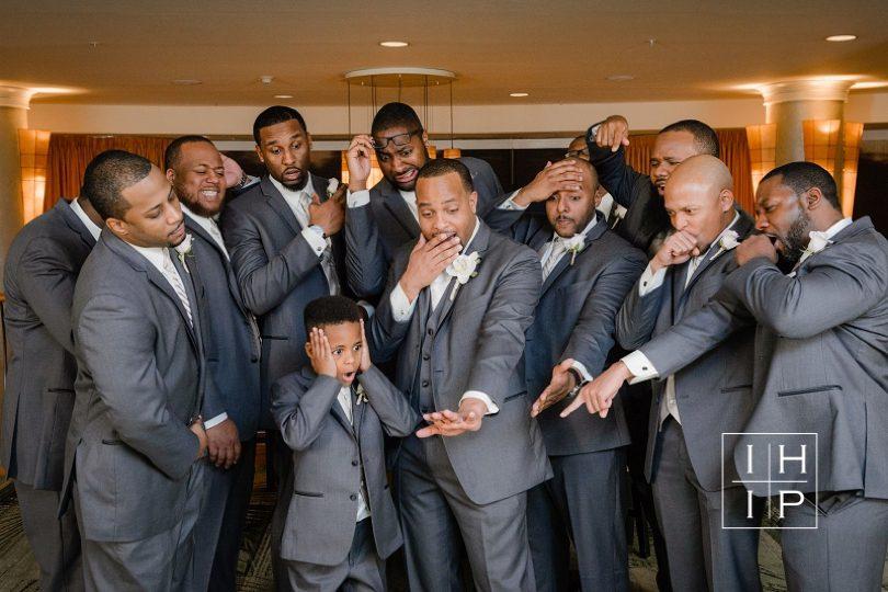 Fun groomsmens photographs