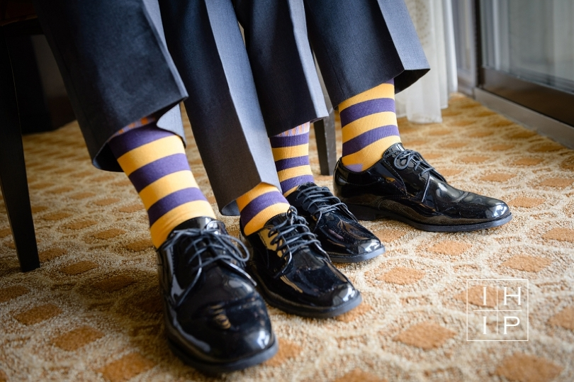 Fun socks for groomsmen