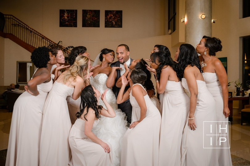 In His Image photography of wedding party