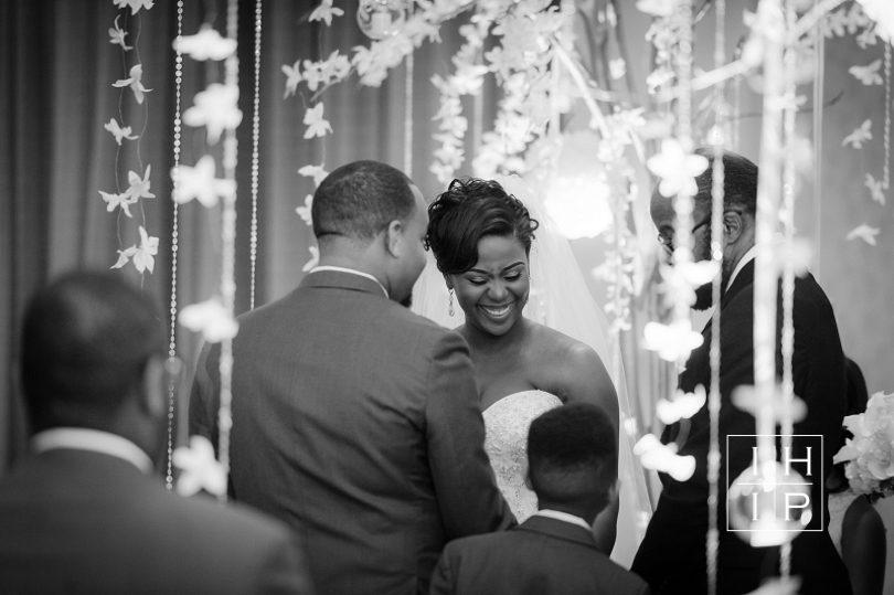 Raleigh Bride and groom say I do