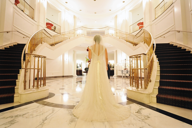 Beautiful wedding at The State Club in Raleigh