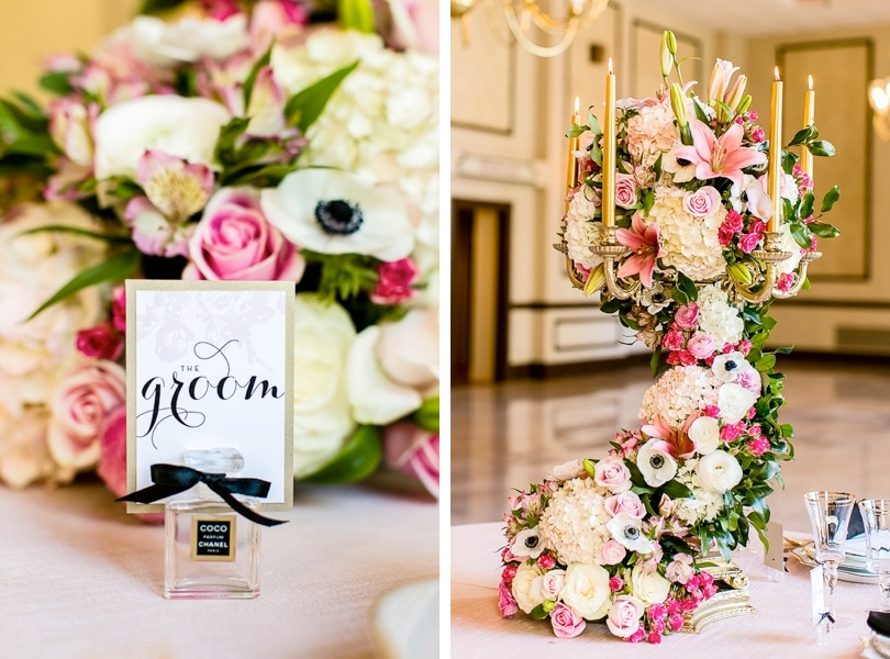 Elegant and extravagant wedding floral inspiration