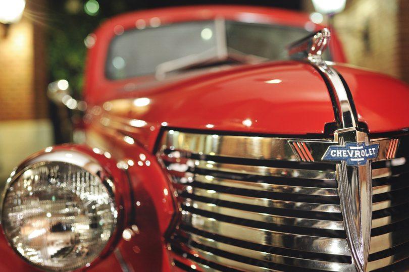 Old car at wedding by Jagg Photography