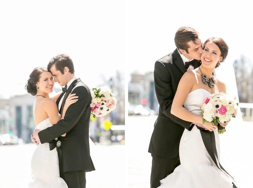 Raleigh North Carolina bride and groom