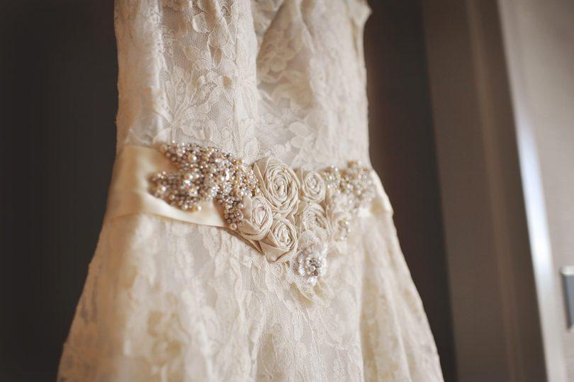 Raleigh bride wears grandmothers wedding dress
