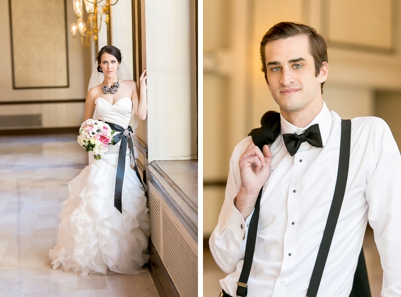 Wedding style shoot in the Virginia Dare Ballroom Raleigh