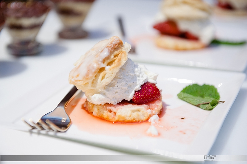 Bite size desserts by Durham Catering Co