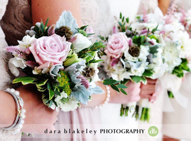 Blush bridal bouquets
