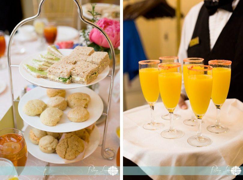 Bridal shower and tea time at The Carolina Inn