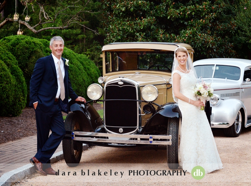 Bride and groom portraits by Dara Blakeley Photography
