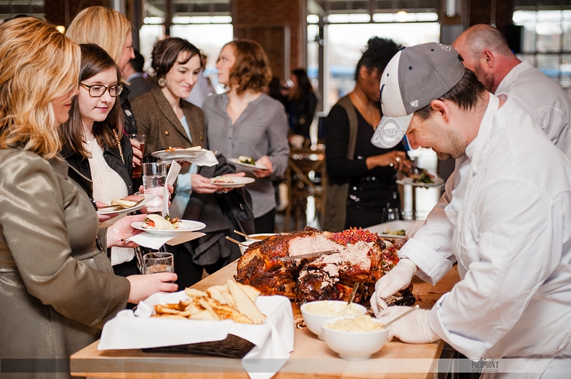 Durham Catering Co provides food for event at The Rickhouse