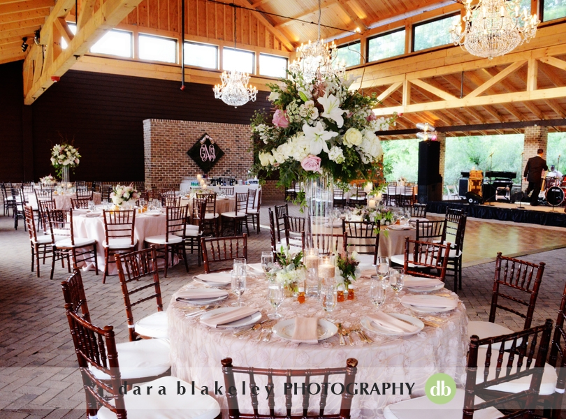 Elegant rustic wedding reception at The Sutherland