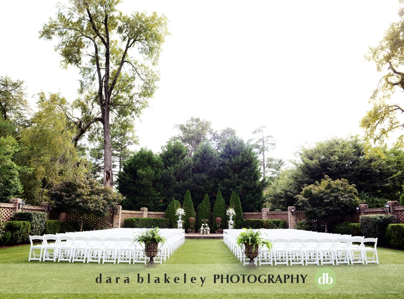 Outdoor wedding ceremony at The Sutherland