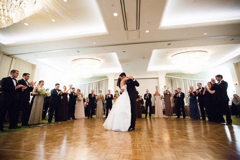 Reception at Raleigh wedding venue
