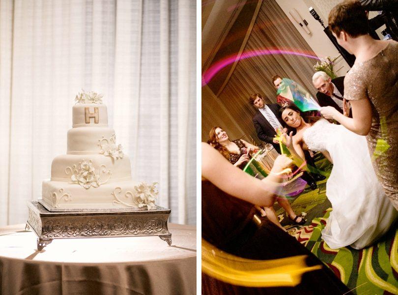 Urban wedding at the Renaissance Raleigh North Hills