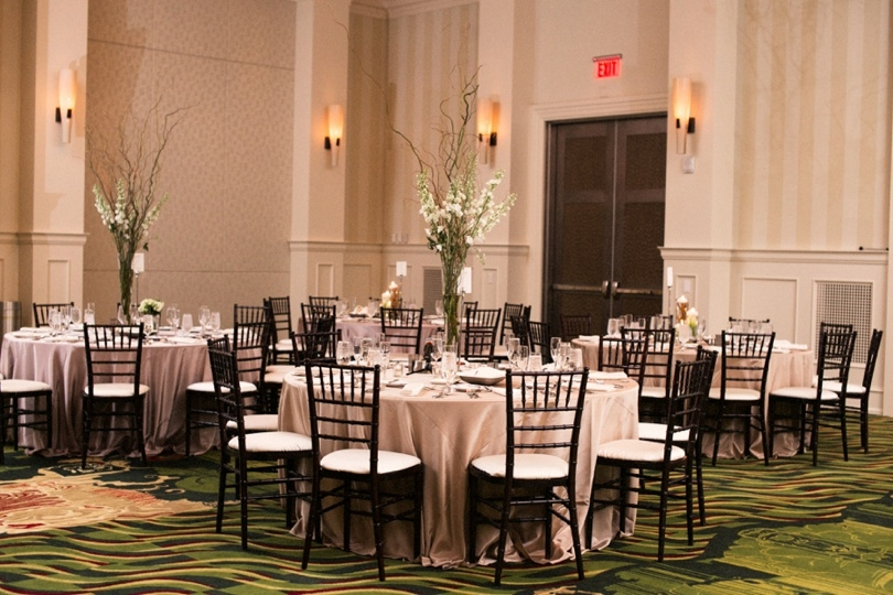 Wedding reception at the Renaissance North Hills Hotel