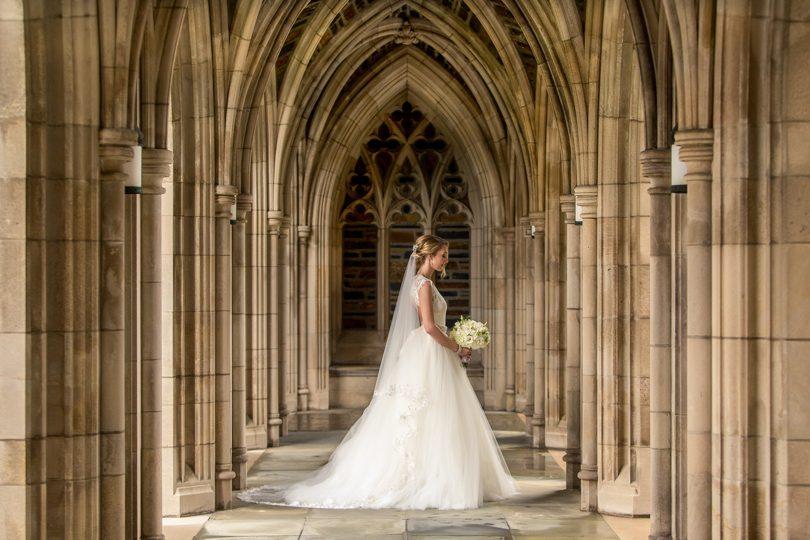 Wedding at Duke Chapel in Durham
