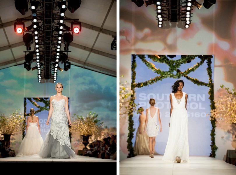 Charleston Fashion Week Modern Trousseau and Nicole Miller gowns
