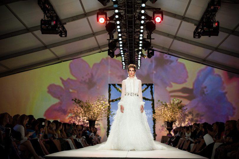 Charleston Fashion Week Pronovias Atelier gown