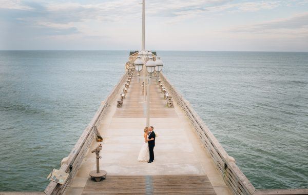 OBX wedding venue Jennettes Pier