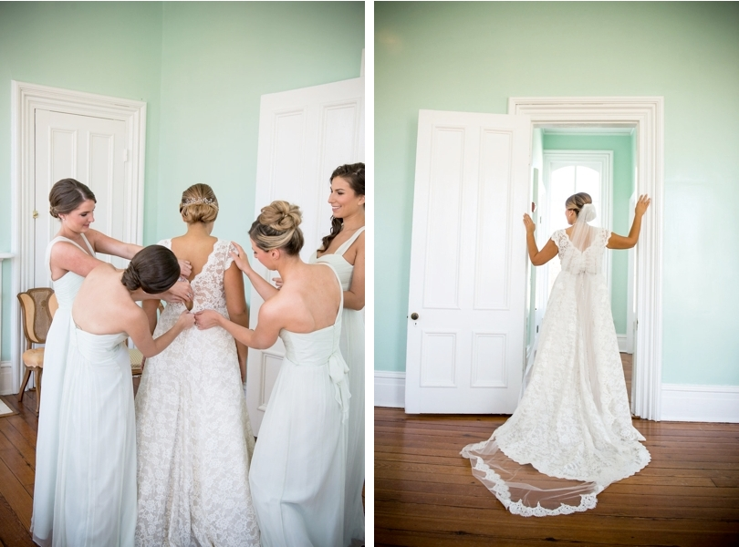 Raleigh bride at Merrimon Wynne