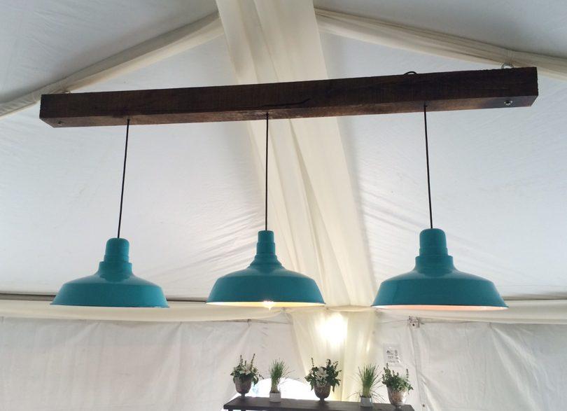 Mod Lighting for Raleigh wedding