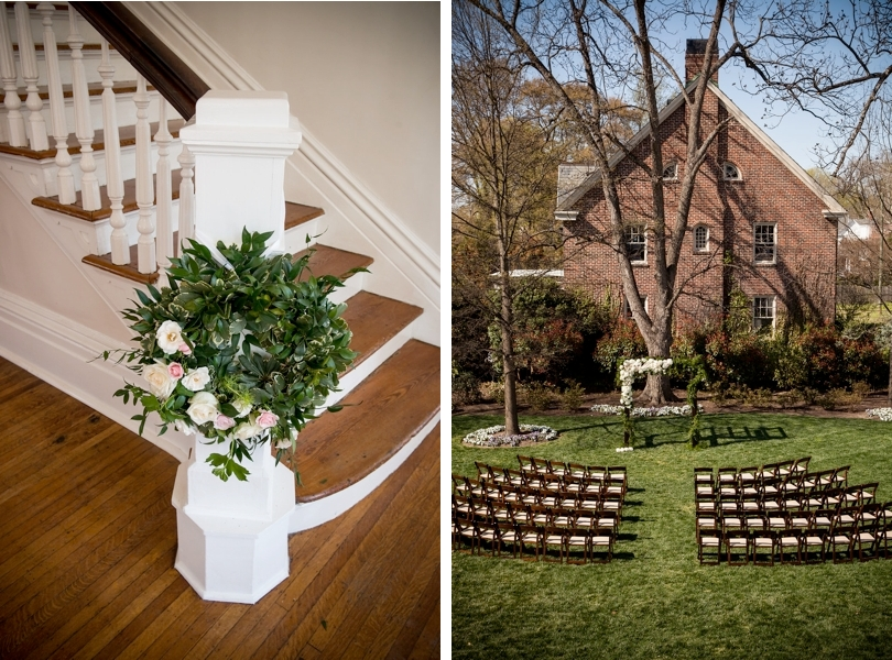 Spring wedding in North Carolina