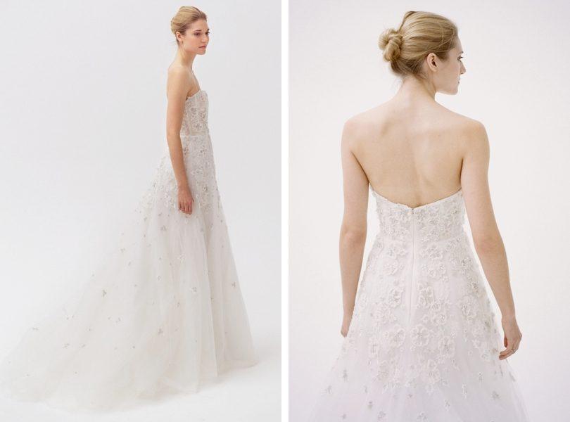 Amsale Ashton wedding gown from NY bridal market