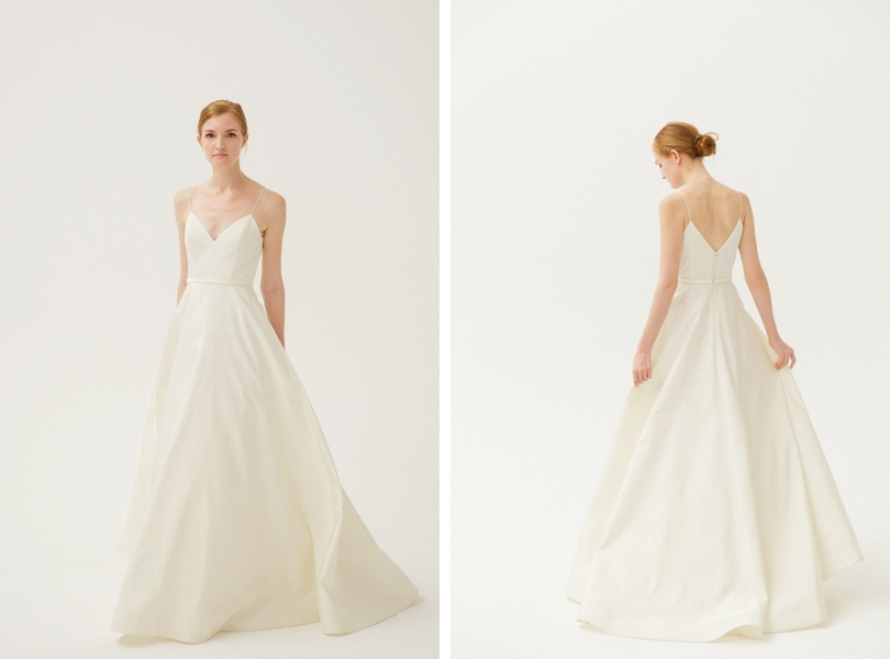 Amsale Rowan a-line wedding dress