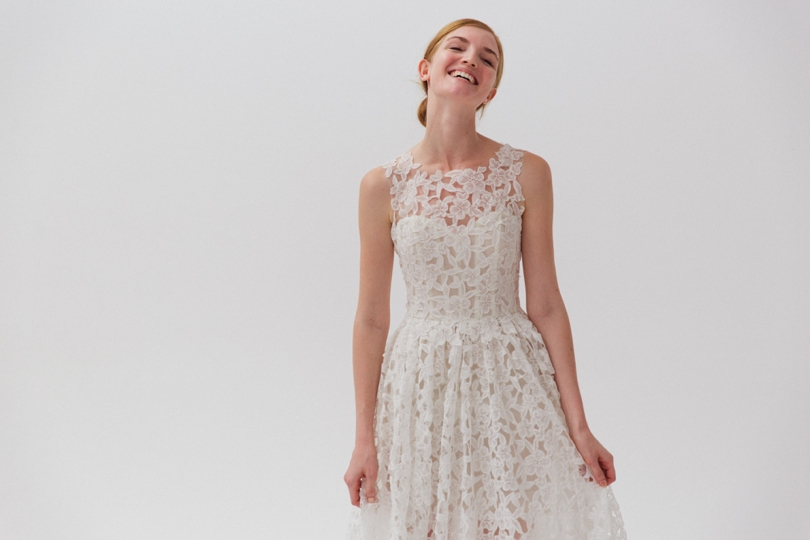 Amsale wedding gown trends from NY bridal fashion week
