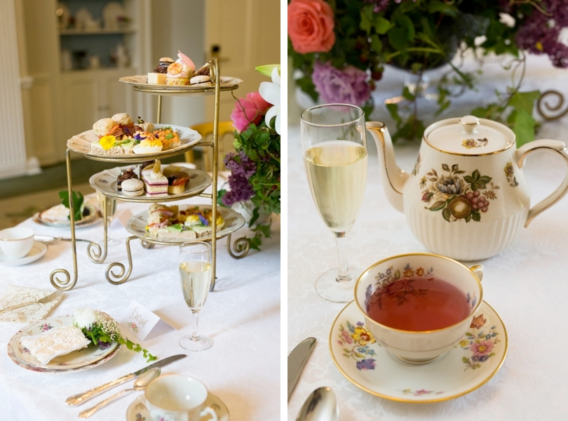 Bridal tea and luncheon at The Carolina Inn