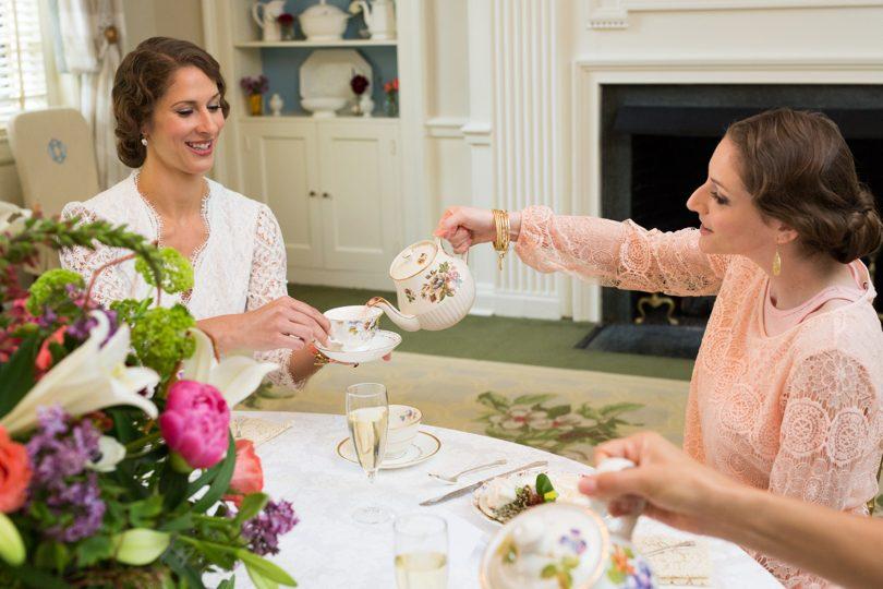 Bridal tea at The Carolian Inn Chapel Hill