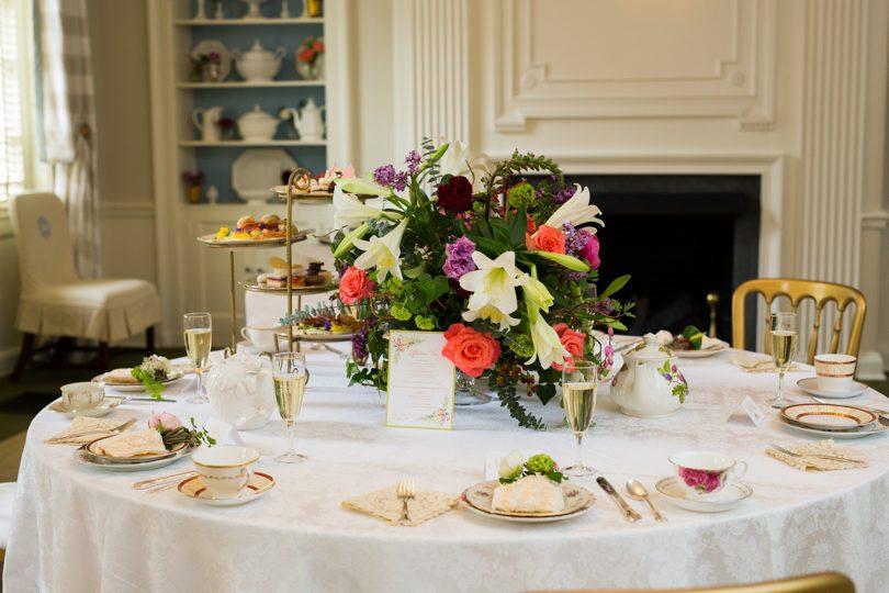 Bridesmaids lunch at The Carolina Inn