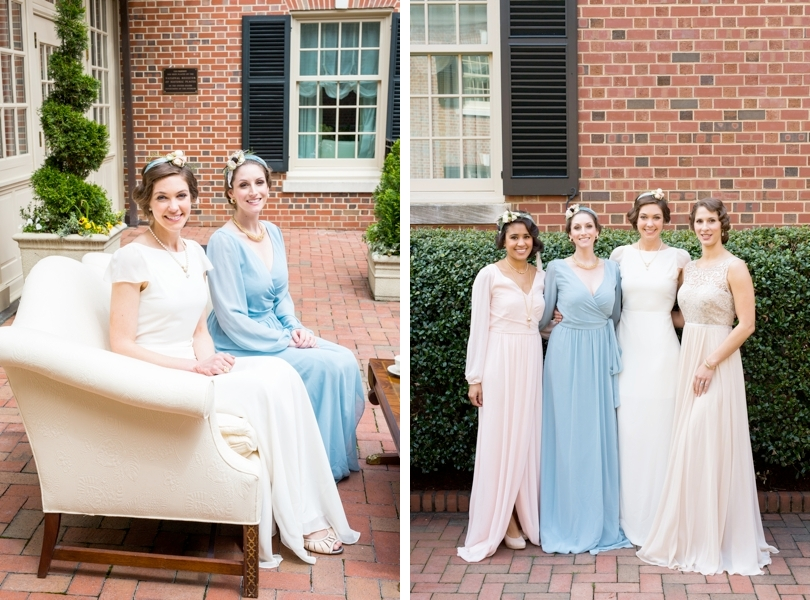 Downton Abbey themed wedding and gowns